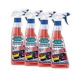 4x Dr. Beckmann Glaskeramik Glanz-Reiniger 250 ml - Reinigt und pflegt streifenfrei