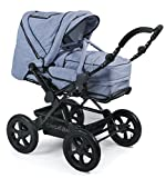 CHIC 4 BABY 100 55 Kombi-Kinderwagen Viva, Jeans hellblau/blau