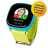 XPLORA-Telefonuhr für Kinder, inklusive 12 Monate Telefonie, Internet und XPLORA-Dienste (NUR FÜR...