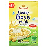 Alnatura Bio Kinder-Basis-Müsli, 6er Pack (6 x 250 g)