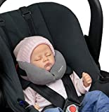 SANDINI SleepFix Baby – Baby Schlafkissen/ Nackenkissen mit Stützfunktion – Kindersitz-Zubehör für Auto/ Fahrrad/ Reise – Kopfstütze/ Sitzverkleinerung/ Verhindert das Abkippen des Kopfes im Schlaf