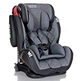 LCP Kids Autokindersitz Isofix 9-36 kg GT Comfort Gruppe 1 2 3 - grau