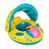 Schwimmhilfen Aufblasbares Kinderboot Beach Sommer Hingucker für Wasserspaß Familienspaß in See...