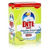 WC Ente Frische Siegel Nachfüller, körbchenloser WC Spüler, bis zu 16 Wochen, Limone Duft, 1er Pack (1 x 72 ml)