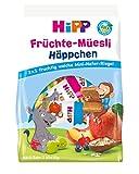 Hipp Bio-Riegel Mini-Mix-Pack, Früchte-Müesli-Häppchen, 7er Pack (7 x 100 g)