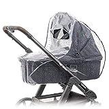 Universal Komfort Regenschutz für Kinderwagen / Babywannen (z.B. Hauck, Hartan, ABC-Design uvm.) |...