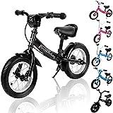 Deuba Kinder Laufrad - ab 2 Jahre | Farbe & Modellwahl | mit Bremse | Höhenverstellbar |...