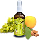 Massageöl, Stretch Mark Massageöl mit Jojobaöl, Mandelöl und Mandarinenöl, 100 ml, Glasflasche,...