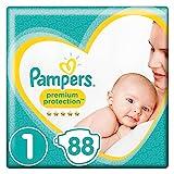 Pampers–New Baby Windeln, Größe 1 (2-5 kg), 2er Pack (88 pieces)