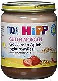HiPP Erdbeere in Apfel-Joghurt-Müesli, 6er Pack (6 x 160 g)