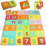 KIDUKU 86 teilige Puzzlematte Kinderspielteppich Spielmatte Spielteppich Schaumstoffmatte...