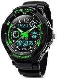 Digital Uhren für Kinder Jungen - 50 m Wasserdicht Outdoor Sports Analog Armbanduhr mit...