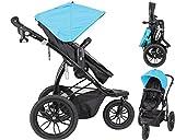 papilioshop Manta Kinderwagen Kinderwagen für Baby Kind Kinder Gehstock Trekking Joggen Berg Strand...