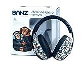 Banz Baby Bubzee Gehörschutz Sound blockierender Ohrenschützer, 0-2 Jahre, Stick & Stones.