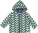 loud + proud Unisex Baby Regenmantel Wasserabweisende Jacke, Grün (Pine Pin), 68...