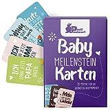 Baby Meilenstein-Karten für das 1. Lebensjahr - 35 liebevoll gestaltete Karten - Ideal als Geschenk...