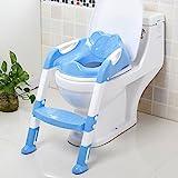 Toiletten-Trainer, Töpfchen Kinder,Toilettensitz mit Leiter Töpfchen Sitz mit Treppe.