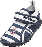 Playshoes Aquaschuhe, Badeschuhe Maritim mit höchstem UV-Schutz nach Standard 801 174781, Jungen Aqua Schuhe, Blau (original 900), EU 20/21