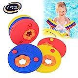 Baytter Schwimmflügel Schwimmscheiben Schwimmhilfe Schwimmringe Arm Swim Discs Armbinden 6 Stücke für Kinder 1 bis 10 Jahre alt
