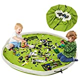 BELLESTYLE Kinderspielzeug-Aufbewahrungsbeutel, Baumwoll-Segeltuch-bewegliches gro?es einfaches...