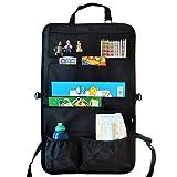 Auto Organizer & Sitzschoner für Kinder – mit dem vielfältigen Rücksitz Organizer mit 7 XL...