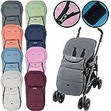 Fußsack Sommerfußsack Kinderwagen Buggy Baby Kinder Kinderwagenfußsack in 8 Farben (Rosa)