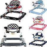 Lauflernhilfe Racer mit Spielcenter (5 Melodien) Gehfrei Gehhilfe Baby Walker in 5 verschiedenen...
