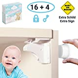 Magnetische Kindersicherung Schrank 8 Stück / 16 Stück - Babysicherung für Schrank und Schubladen - Schranksicherung Baby