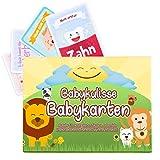 Babykulisse 40 Meilensteinkarten 1. Jahr Inklusive Babytagebuch - Meilenstein Babykarten Für...