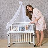 babybay Rollensatz Parkett passend für alle Modelle, weiß