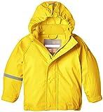 CareTec Kinder wasserdichte Regenjacke (verschiedene Farben), Gelb (Yellow 324), 80