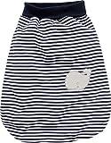 Schnizler Unisex Baby Schlafsack Strampelsack Wal mit elastischem Umschlagbund, Oeko Tex Standard 100, Gr. One size, Blau (marine/weiß 171)