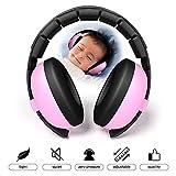 Kobwa Baby Ear Defender Kopfhörer–30dB Geräuschunterdrückung Gehörschutz Sicherheit Verstellbarer Ohrwärmer für Studium Outdoor Reisen–Alter: über 6Monate, weich und bequem, Schlafsack Kopfhörer