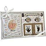 Geschenk zur Geburt und Taufe Junge & Mädchen Geschenkset Geschenkidee für Geburtsurkunde mit...