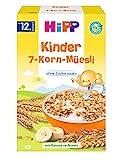 HiPP Bio-Kinder 7-Korn-Müesli, 6er Pack (6 x 200 g)