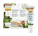 Nuby All Natural Kinderzahncreme und Fingerzahnbürste (1 x 20 ml)