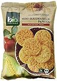 biozentrale Mini-Maiswaffeln Paprika, 5er Pack (5x 50 g)