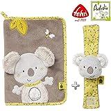 Baby Fehn Spar-Set Koala U-Heft-Hülle & Rasselarmband // 2er Set Kollektion Australia // 0+
