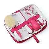 Nuvita 1136 Baby Pflegeset für Neugeborene mit Aufbewahrungstasche – Erstausstattung Gesundheitsset – Reise Pflegeset Für Kleinkinder, Säuglinge, Babys - EU Marke – Entworfen in Italien (Rosa)