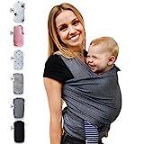 Fastique Kids Babytragetuch - elastisches Tragetuch für Früh- und Neugeborene Kleinkinder - inkl....