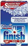 Calgonit Finish Spezialsalz für Spülmaschinen, 4er Pack (4 x 1.2 kg)