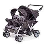 Childwheels Kinderwagen Krippenwagen Quadro Viersitzer - neu mit Autobrake