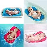 Treasure-House Baby Badematte Neugeborene Badesitz Weich Bad Kissen Bett Schwimmend
