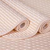 4 Lagen Wasserdicht Atmungsaktiv Inkontinenzauflage Bettunterlage für Baby Kinder Erwachsene Dry Night Matratzenauflage (50*70cm)