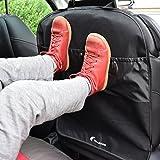 Premium Trittschutz mit 2 praktischen Aufbewahrungstaschen I Schützen Sie die Rückseite Ihres...