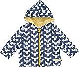 loud + proud Unisex Baby Regenmantel Wasserabweisende Jacke, Blau (Midnight Mi), 80 (Herstellergröße: 74/80)