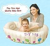 Tiny Tots Baby Infant Travel aufblasbare Badewanne creme Farbe