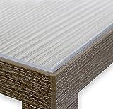 Glasklar Folie 2,0 mm transparente Tischdecke Tischschutz Lebensmittelgeeignet, Breite und Länge wählbar, 70x100 cm