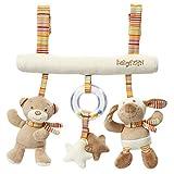 Fehn 160987 Activity-Trapez Rainbow/Stoff-Trapez zum Greifen, Fühlen, Spielen für Zuhause oder unterwegs/Für Babys und Kleinkinder ab 0+ Monaten/Maße: 27cm lang