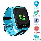 Jaybest Kid Smart Watch SOS Tracker, 1.44' Touch LCD Kinder Smartwatch mit Kamera Taschenlampen...